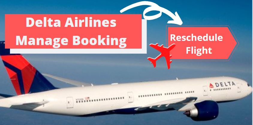 Delta Airlines Manage Booking