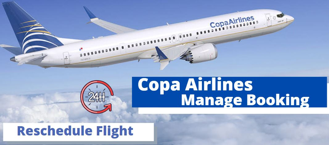 Copa Airlines Manage Booking
